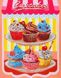 Diamond Dotz Cup Cakes - Needleart World