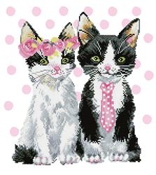 Diamond Dotz Mr & Mrs Pink - Needleart World