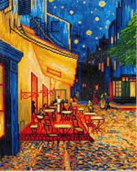 Diamond Dotz Café at Night (Van Gogh) - Needleart World