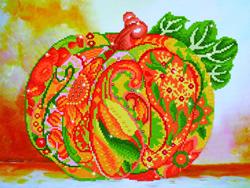 Diamond Dotz Autumn Pumpkin Amber Sparkle - Needleart World