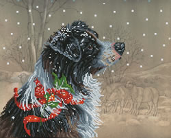 Diamond Dotz Christmas Collie - Needleart World