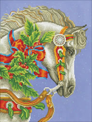 Diamond Dotz Festive Canter - Needleart World
