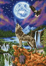 Diamond Dotz Mystic Wolf - Needleart World