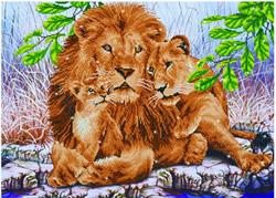Diamond Dotz Lion Family - Needleart World