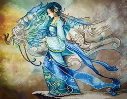 Diamond Dotz Dragon Princess - Needleart World