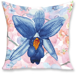 Diamond Dotz Kussen Sparkle Garden Blue - Needleart World