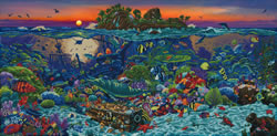 Diamond Dotz Coral Reef Island - Needleart World