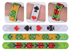 Diamond Dotz 3 Armbanden Multi Pack - Lucky Lucky - Needleart World