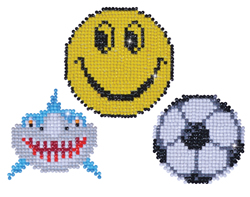 Diamond Dotz 3 Magneten Multi Pack - Smile - Needleart World