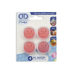 Diamond Dotz Wax Potjes - 4 stuks - Needleart World