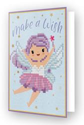 Diamond Dotz Greeting Card Make A Wish - Needleart World