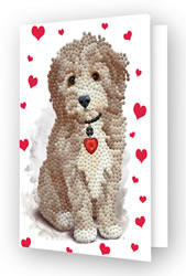 Diamond Dotz Greeting Card Lovely Boy - Needleart World