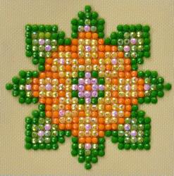 Diamond Dotz Flower Mandala 1 - Needleart World