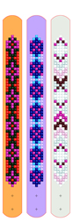 Diamond Dotz Dotzies 3 Bracelets Multi Pack - Geometric - Needleart World