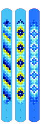 Diamond Dotz Dotzies 3 Bracelets Multi Pack - Blues - Needleart World