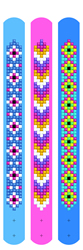 Diamond Dotz Dotzies 3 Bracelets Multi Pack - Daisies - Needleart World