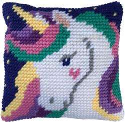 Kussen borduurpakket Star Light Unicorn - Needleart World