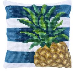 Kussen borduurpakket Pine Lime - Needleart World