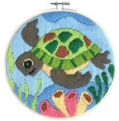 Platsteek borduurpakket Ocean Baby - Needleart World