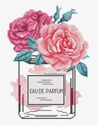 Voorbedrukt borduurpakket Rose Chic - Needleart World