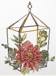 Voorbedrukt borduurpakket Succulent Garden 2 - Needleart World