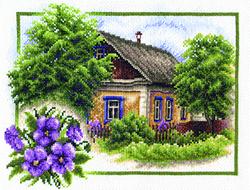 Borduurpakket Summer House - PANNA