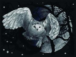 Borduurpakket White Owl - PANNA