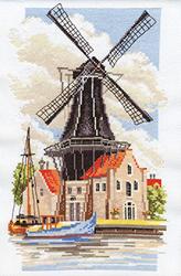 Borduurpakket Windmill - PANNA