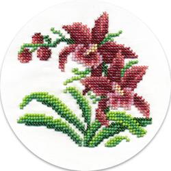 Kralen borduren Wild Orchids  - PANNA