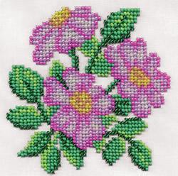 Kralen borduren Fragrant Wild Rose - PANNA