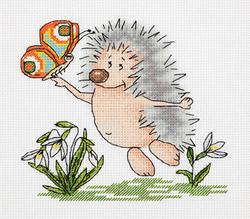Borduurpakket Spring Hedgehog - PANNA