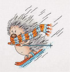 Borduurpakket Winter Hedgehog - PANNA