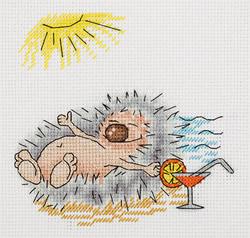 Borduurpakket Summer Hedgehog - PANNA