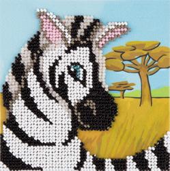 Kralen borduren Zebra - PANNA