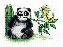 Borduurpakket Panda and the Caterpillar - PANNA