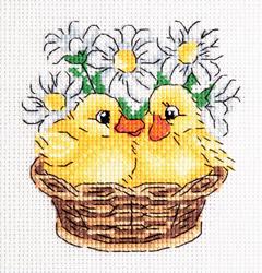 Borduurpakket Ducklings - PANNA