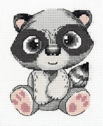 Borduurpakket Pepe the Raccoon - PANNA