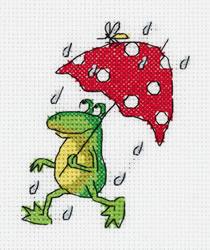 Borduurpakket Summer Rain - PANNA