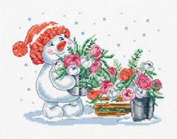 Borduurpakket Pink Winter - PANNA