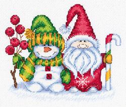 Borduurpakket Winter Greetings - PANNA