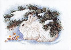 Borduurpakket White Hare - PANNA