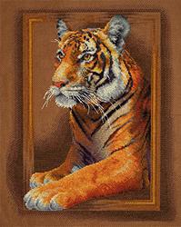 Borduurpakket Tiger - PANNA