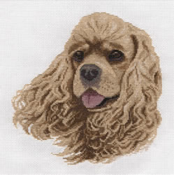 Borduurpakket Cocker Spaniel - PANNA