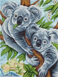 Borduurpakket Fluffy Koalas - PANNA