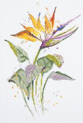 Borduurpakket Bird of Paradise Flower - PANNA