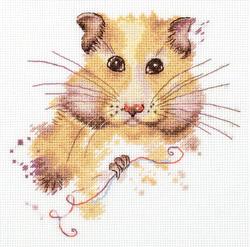 Borduurpakket Hamster - PANNA