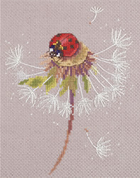 Borduurpakket Split Seconds of Summer - Ladybird - PANNA