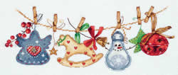 Borduurpakket Christmas Garland - PANNA
