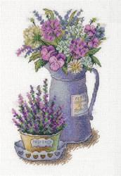 Borduurpakket Flowers of Provence - PANNA