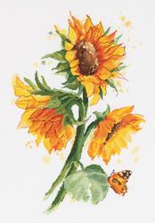 Borduurpakket Bright Sunflowers - PANNA